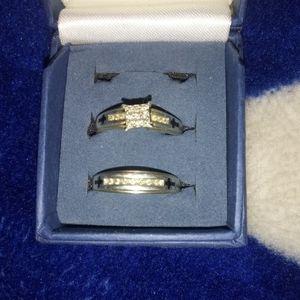 Beautiful Diamond Wedding Set